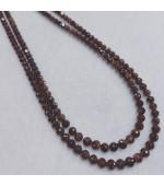 Reddish Brown Diamond Beads
