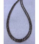 Brown Diamond Beads