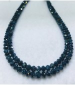 Blue Diamond Beads