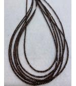 Reddish Brown Diamond Beads 1.5/2mm