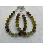 Multy Colour Diamond Beads