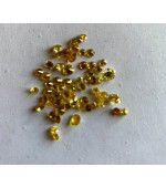 Yellow Diamond cut round 1.5-3mm