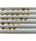 Natural Color Fancy Shape Diamonds 15 pointer