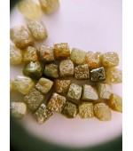 Rough  diamond cubes 4-5 mm