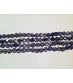 Iolite coins fasct 6-8mm