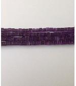 Amethyst cubes plain 4/5mm