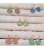 Gold plated earrings-12