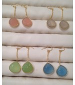Gold plated earrings-11