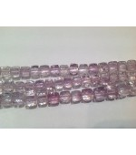 Pink Qtz Amethyst cubes Fasct 5-6mm
