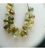Multy color Diamond Drops  Natural