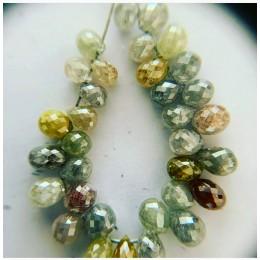 Multy Color Diamond Drops